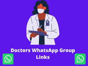 Doctors WhatsApp Group Links
