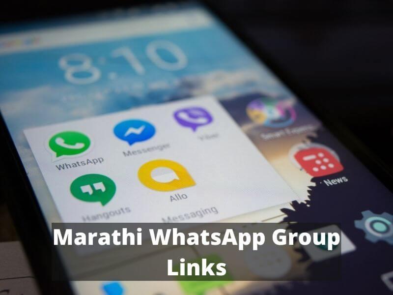 Marathi WhatsApp Group Links list