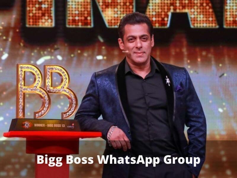 Bigg Boss WhatsApp Group Links
