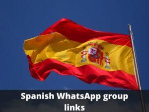Spanish WhatsApp group links