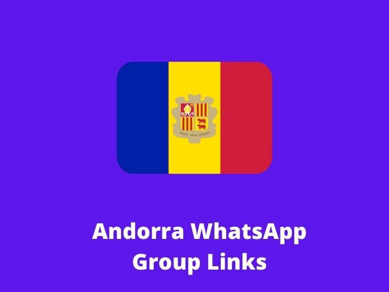 Andorra WhatsApp Group Links