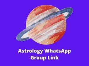 Astrology WhatsApp Group Link