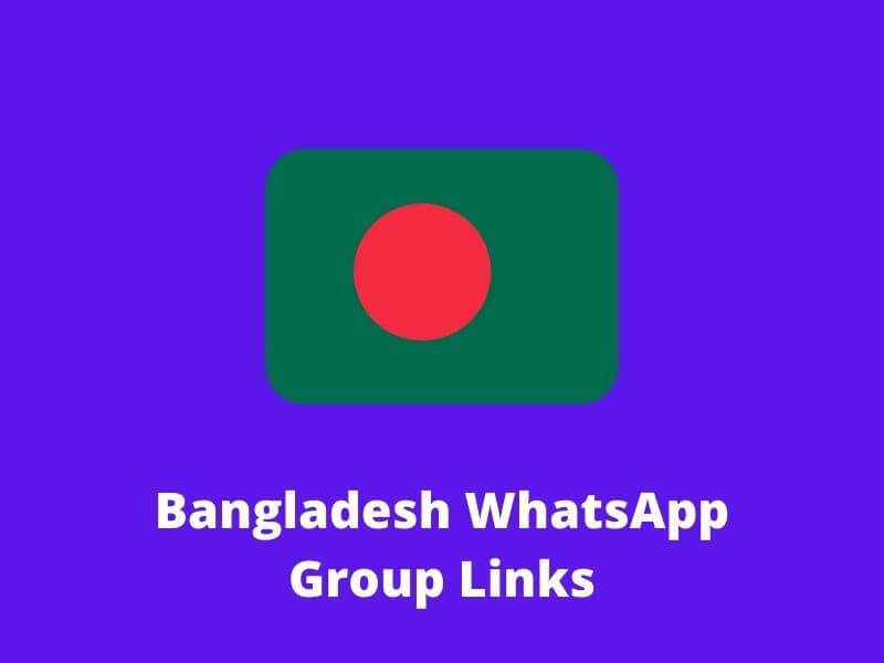 Bangladesh WhatsApp Group Links