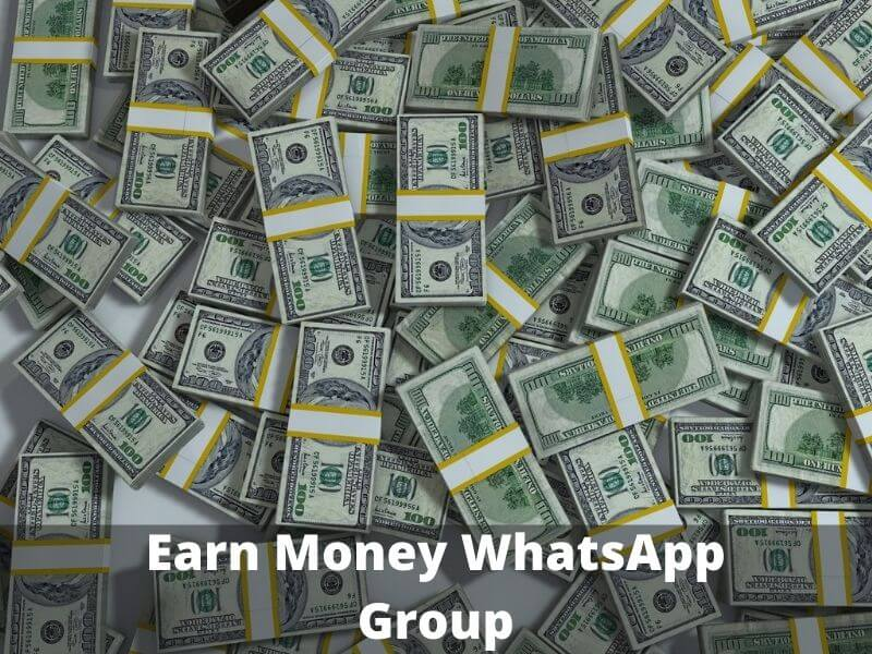 Earn Money WhatsApp Group Link