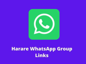 Harare WhatsApp Group Links