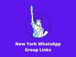 New York WhatsApp Group Links