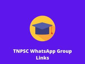 TNPSC WhatsApp Group Links