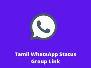 Tamil WhatsApp Status Group Link