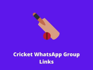 Cricket WhatsApp Group Links
