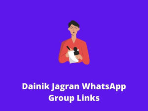 Dainik Jagran WhatsApp Group Links