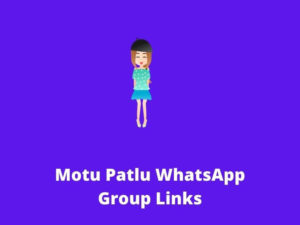 Motu Patlu WhatsApp Group Links