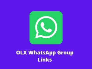 OLX WhatsApp Group Links