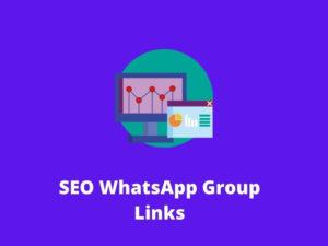 SEO WhatsApp Group Links