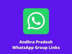 Andhra Pradesh WhatsApp Group Links