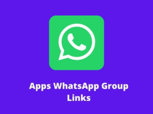 Apps WhatsApp Group Links