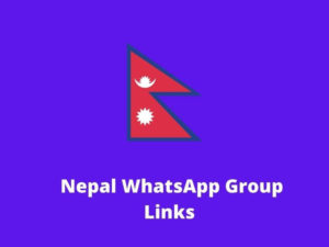 Nepal WhatsApp Group Links