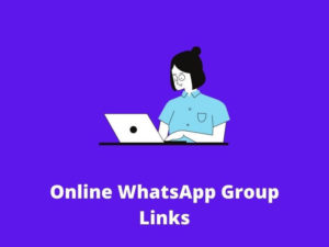 Online WhatsApp Group links