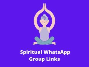 Spiritual WhatsApp Group Links