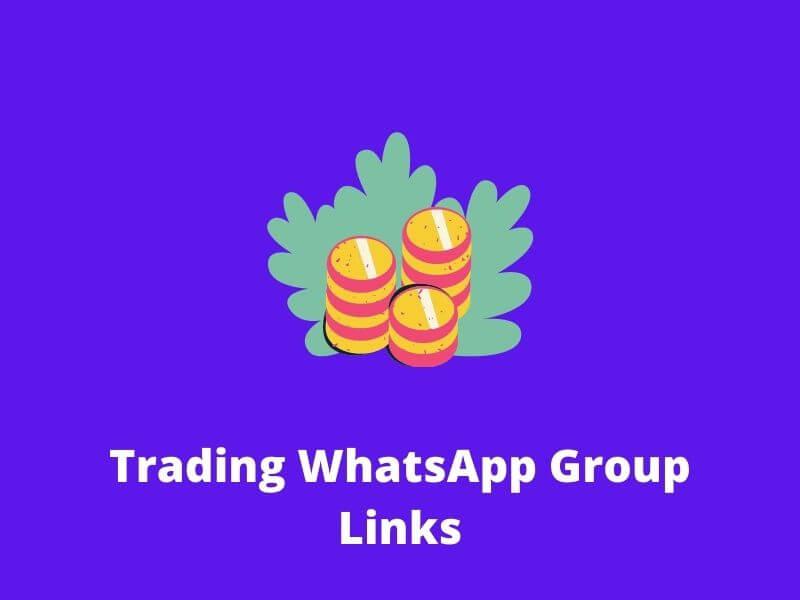 Trading WhatsApp Group Links