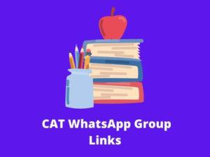 CAT WhatsApp Group Links