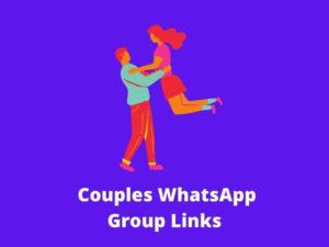 Couples WhatsApp Group Links