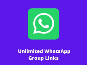 Unlimited WhatsApp Group Links