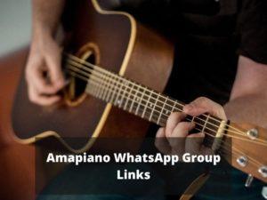 Amapiano WhatsApp Group Links