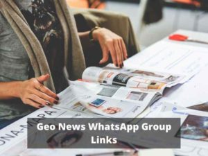 Geo News WhatsApp Group Links