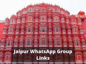 Jaipur WhatsApp Group Links