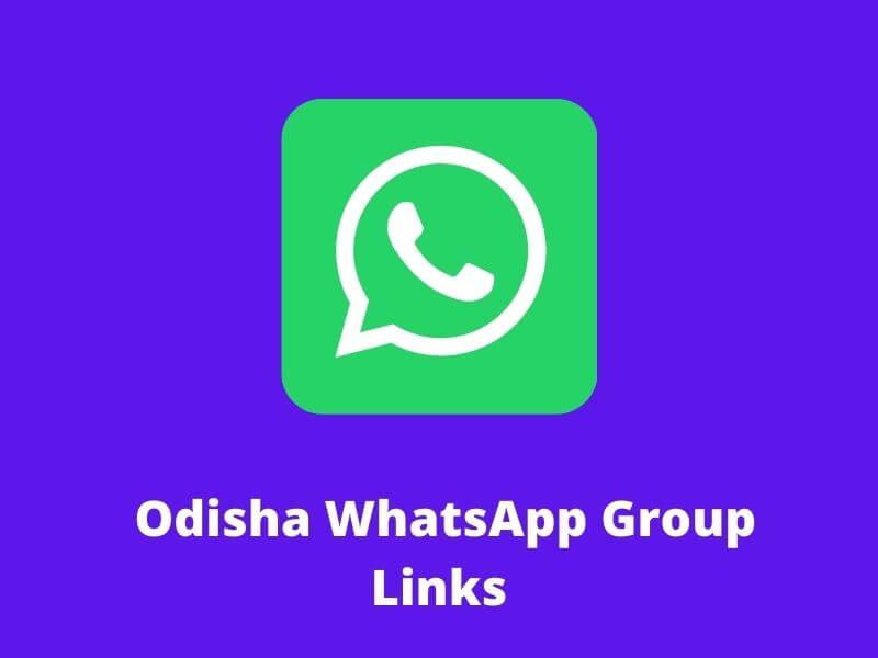 Odisha WhatsApp Group Links