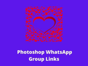 Photoshop WhatsApp Group Links