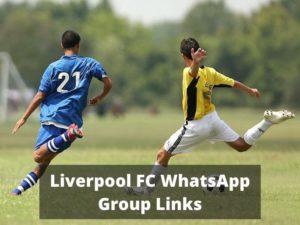 top Liverpool FC WhatsApp Group Links