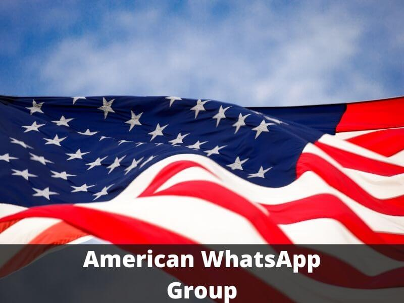 American WhatsApp Group Links