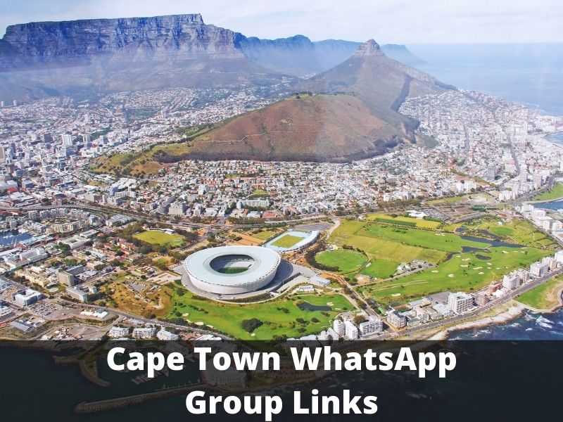 Cape Town WhatsApp Group Links