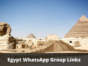 Egypt WhatsApp Group Links