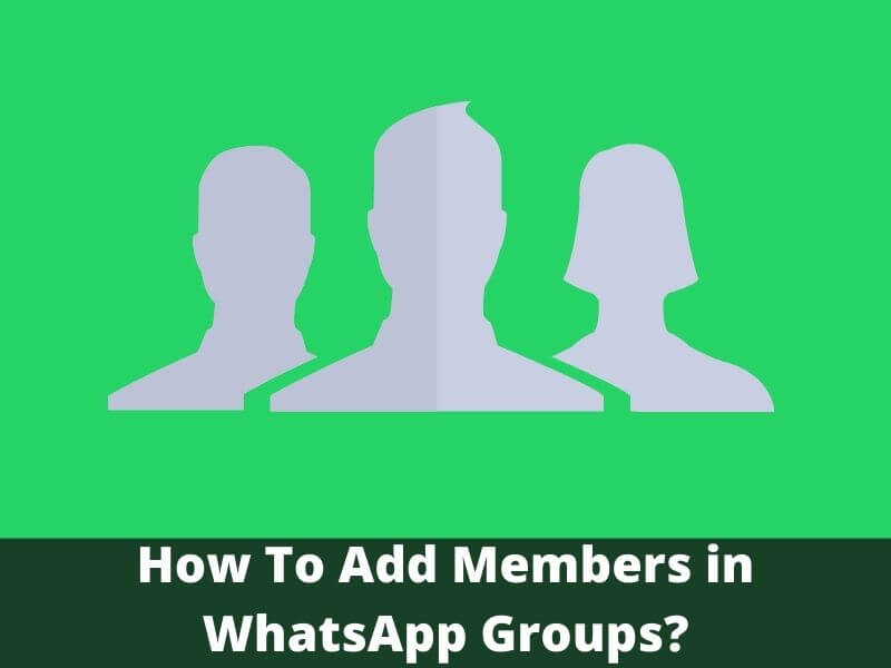 How To Add Members in WhatsApp Groups