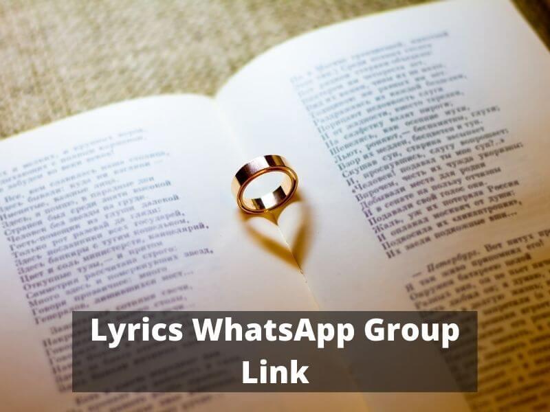 Lyrics WhatsApp Group Links