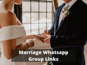 Marriage WhatsApp Group Links