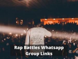 Rap Battles WhatsApp Group Links