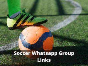 Soccer WhatsApp Group Links