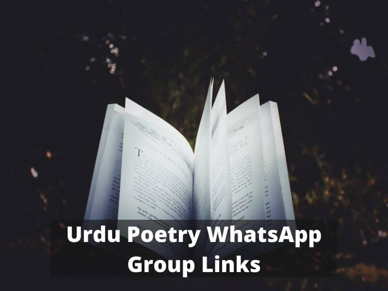 Urdu Poetry WhatsApp Group Links