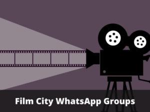 Film City WhatsApp Group Links