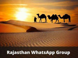 Rajasthan WhatsApp Group Links
