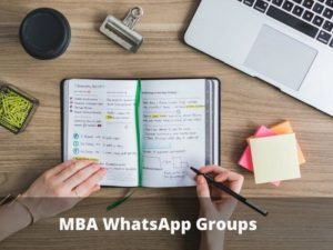 MBA WhatsApp Group Links