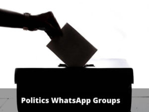 Politics WhatsApp Group Links